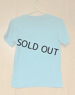 画像2: にこちゃん半袖Tシャツ エメラルドグリーン系
